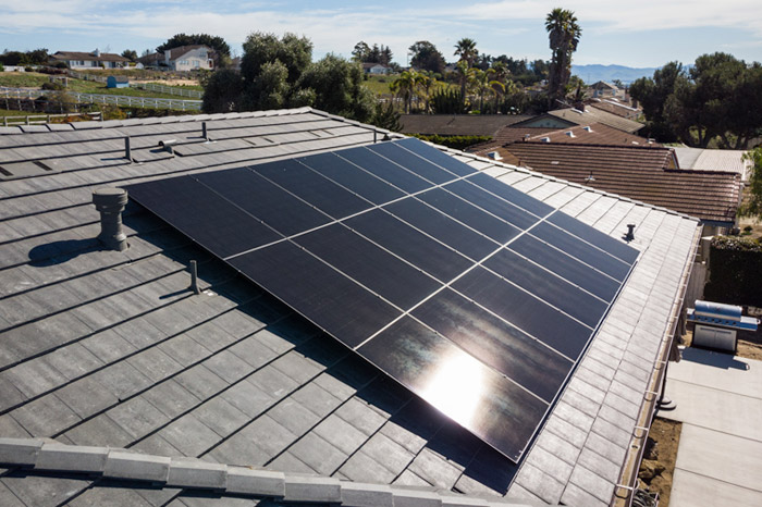 We exclusively use some of the best solar panels on the market